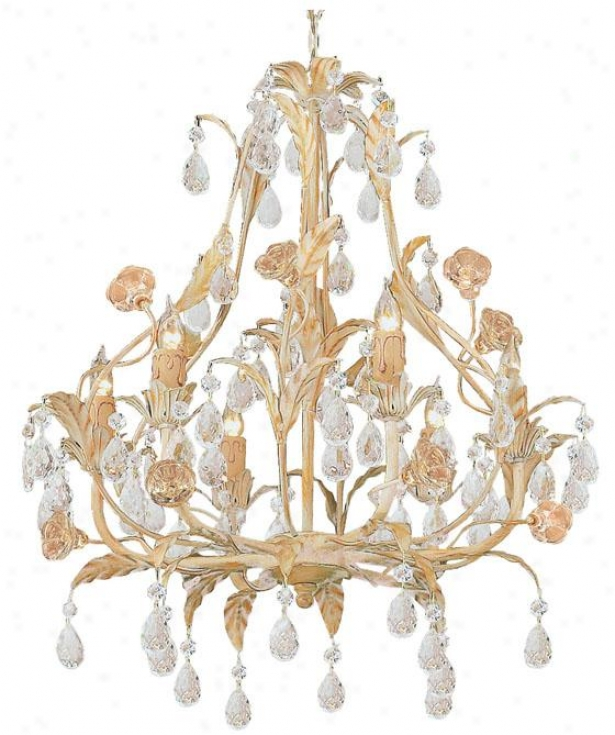 Athena Chandelier - 6-light, Tan