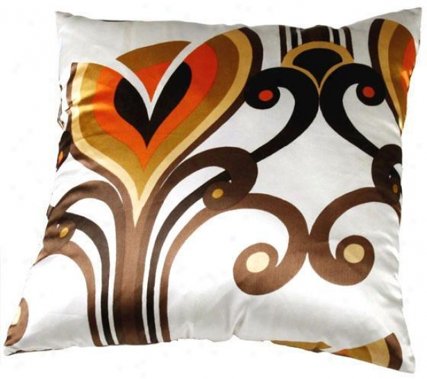 """auburn Pillow - 18""""x18"""", Multi"""