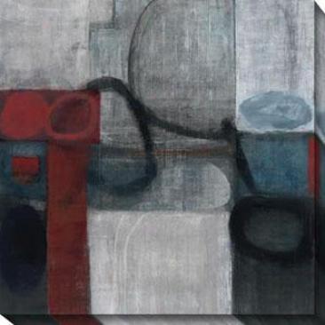 Audax Ii Canvas Wall Art - Ii, Gray/multi