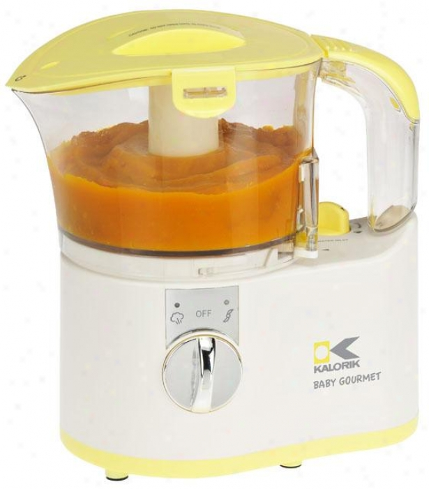Baby Gourmet Food Maker - 8.5hx5.5wx7.5d, Yellow