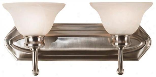 Bailey Vanitty Lighting - 2-light, Grey Steel