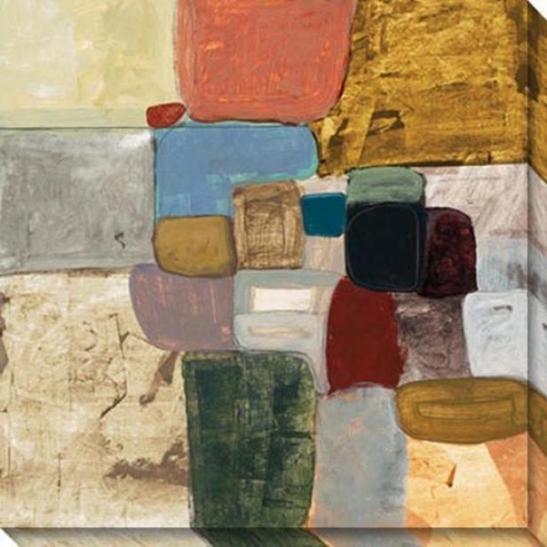 Balance I Canvas Wall Art - I, White
