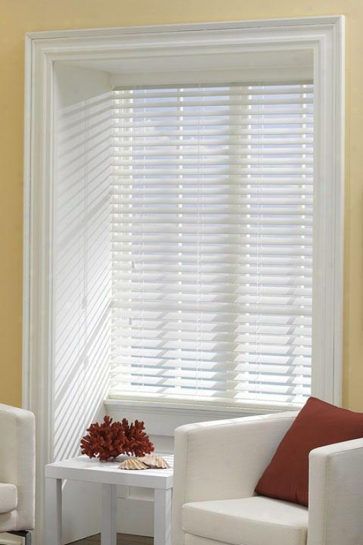 """""""bali Today 2"""""""" Premium Faux Wood Ready-made Blinds - 36""""""""wx54""""""""h, Ivory"""""""