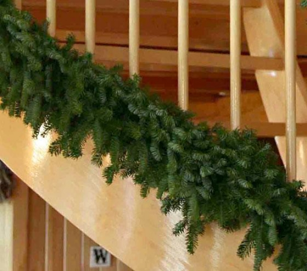 Balsam Garland - 6'ft, Green