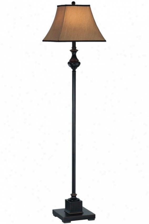 """bandele Floor Lamp - 13.5""""x58.5"""", Bronze"""