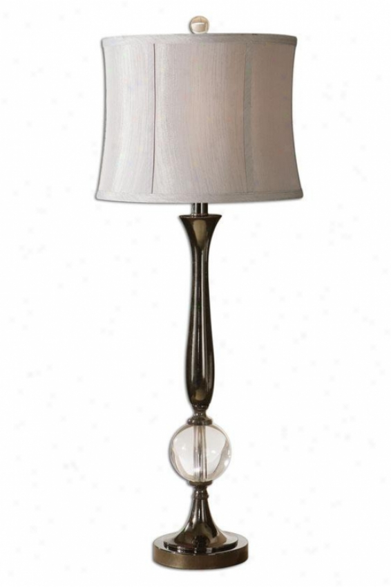 """banida Table Lamp - 35""""h, Black"""