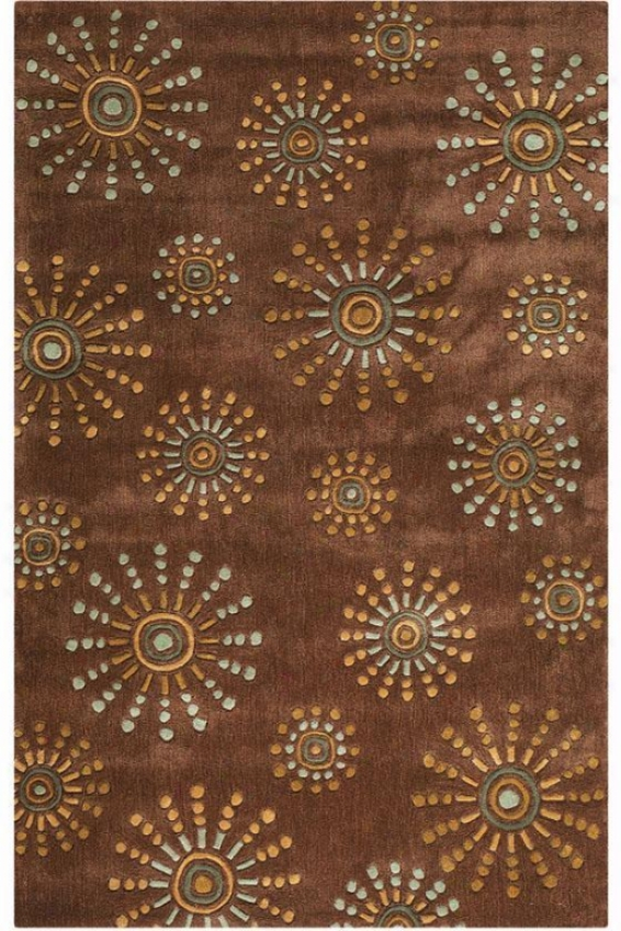 """bauble Rug - 2'6""""x8' Runner, Brown"""