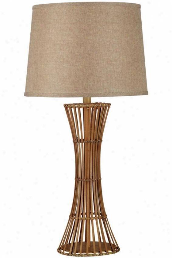 """bayou Table Lamp - 31""""h, Tan"""