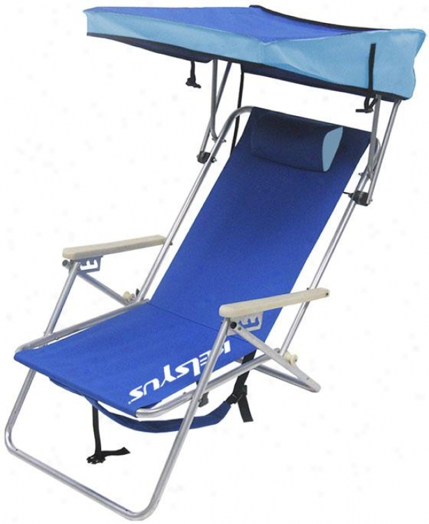 """beach Canopy Chair - 41""""hx23""""l, Blue"""