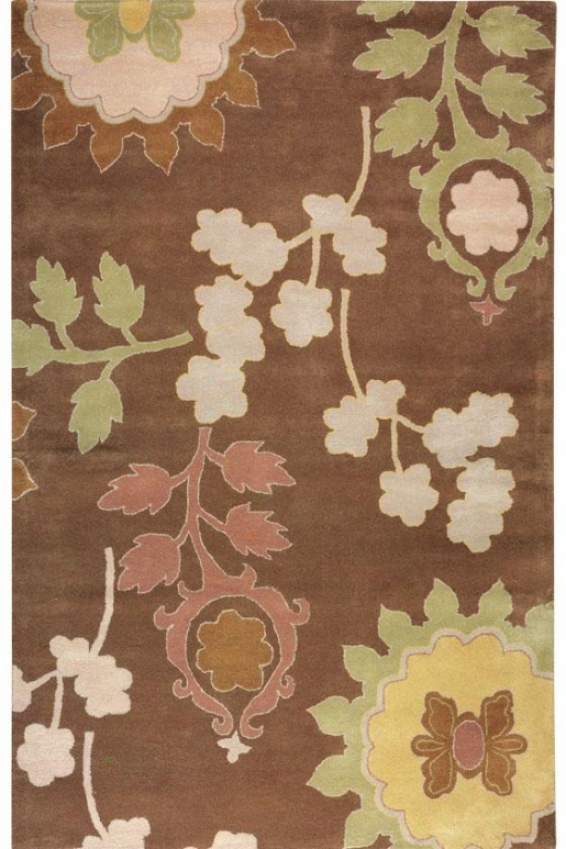 Beatnik Area Rug - 8'x11', Brown