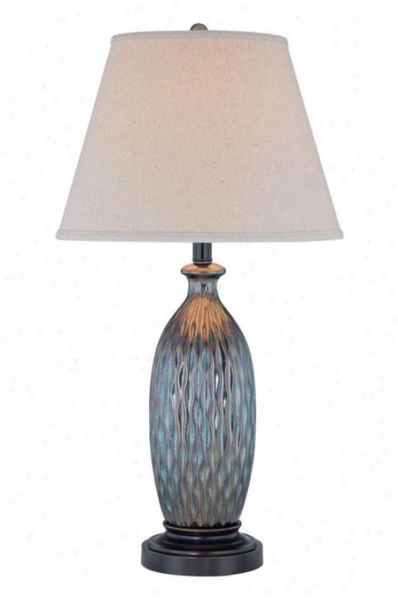 """belden Cream Table Lamp - 28.75""""h X 15""""w, Ivory"""