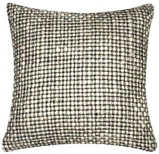 """belleridge Pillow - 18""""x18"""", Black"""