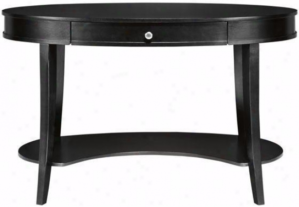 """belmont Desk - 30""""hx48""""w, Black"""