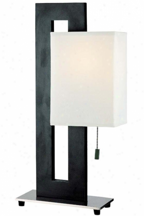 Benito Table Lamp - Small, Mourning