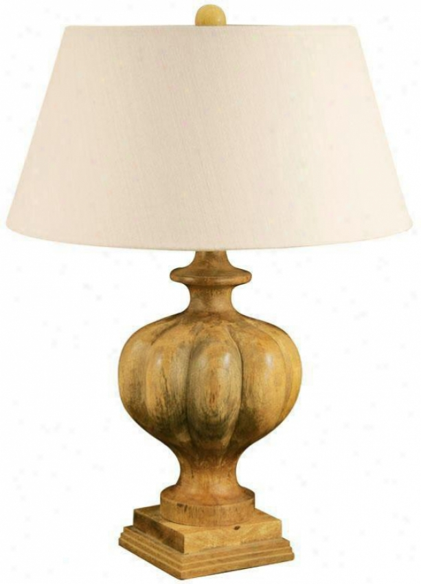 """benton Park Table Lamp - 27""""hx20""""w, Brown"""