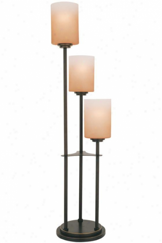 """bess Table Lamp - 34""""hx7.5""""d, Bronze"""