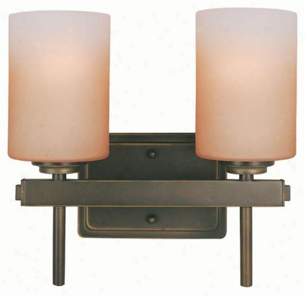 Bess Vanity Light - Two Light, Bronze