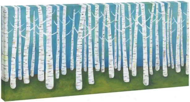 Birch Wall Art - I, Multi