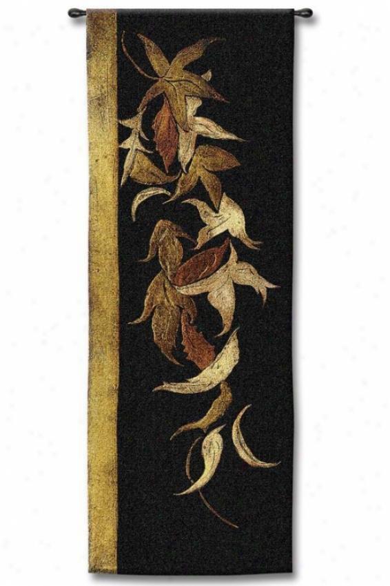 """black Shinwa Tapestry - 53""""hx18""""w, Multi"""