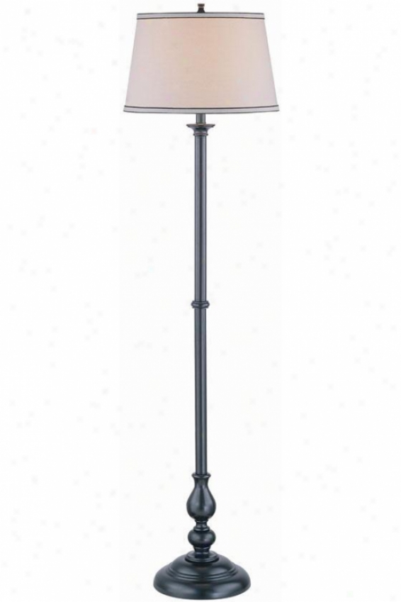 """blaise Floor Lamp - 16""""x60"""", Black"""