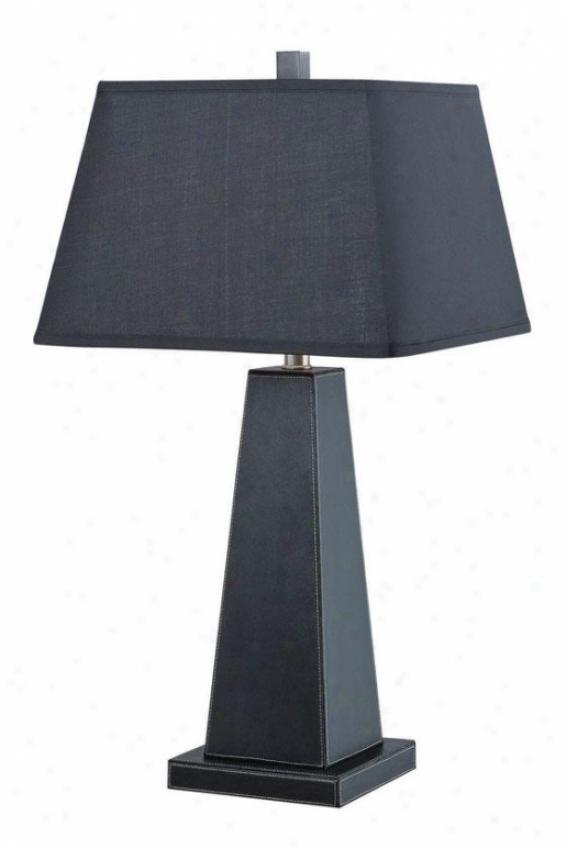 """blakeney Table Lamp - 28.5""""h X 15""""w, Black"""