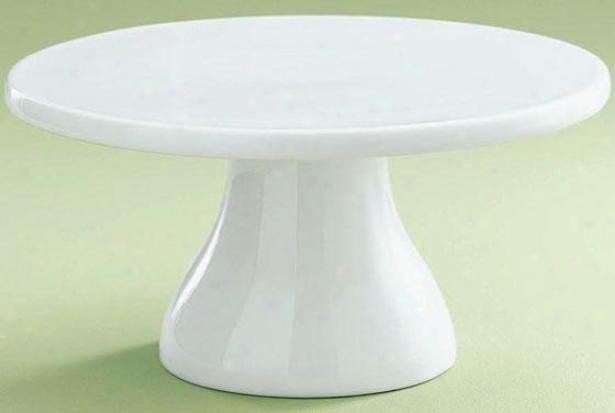 """blanco Cake Pedestal - 5.75""""hx11.5""""d, White"""