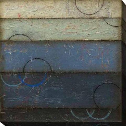 Bule SpectrumC anvas Wall Art - Ii, Blue