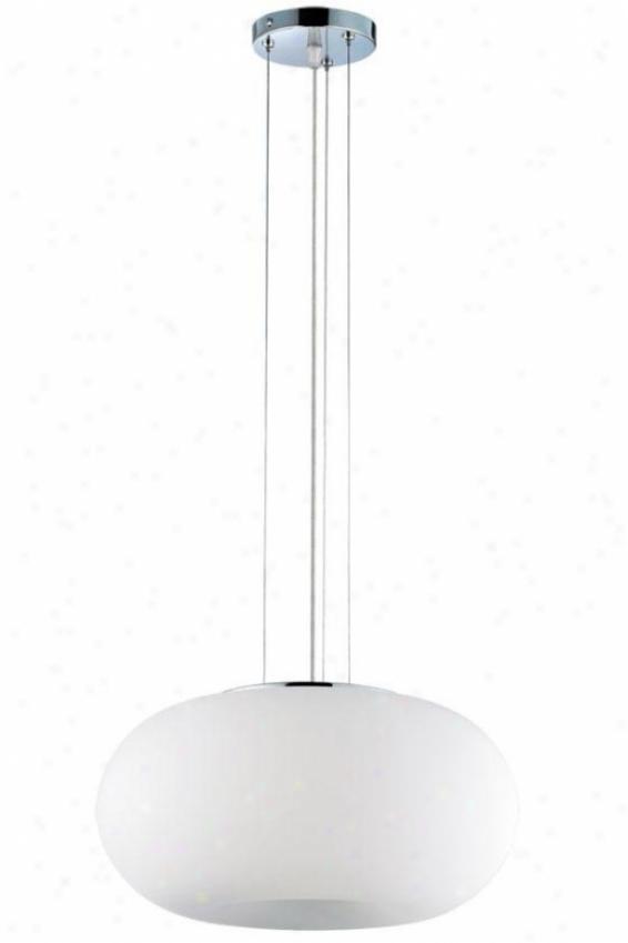 Boom Convertible Pendant/flush Mount - Three Light, White