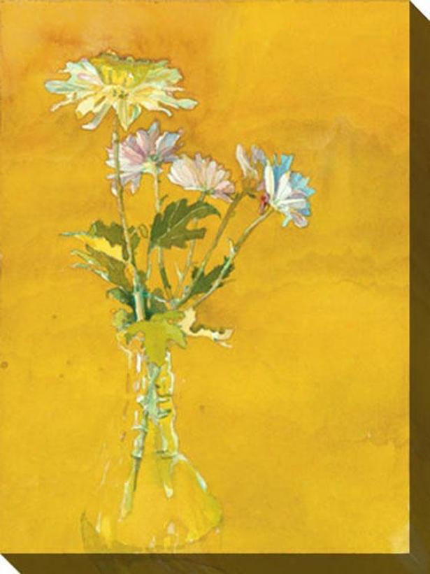 Bouquet Study Ii Canvas Wall Art - Ii, Green