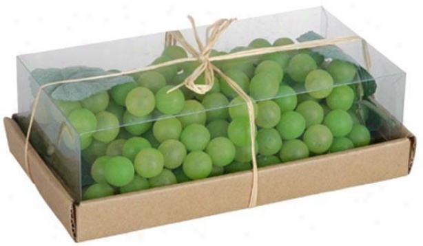 Box Of Grapes - Box, Green
