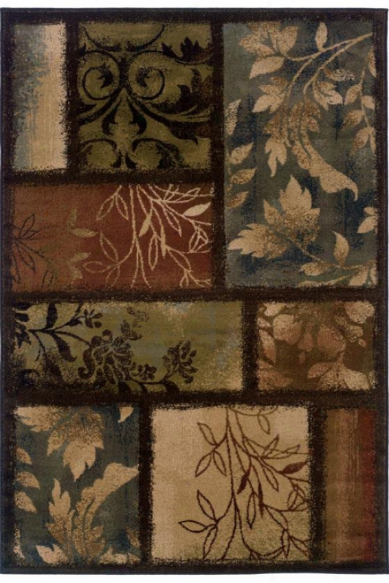 """""""branches Area Rug - 6'7""""""""x9'6"""""""", Brown"""""""