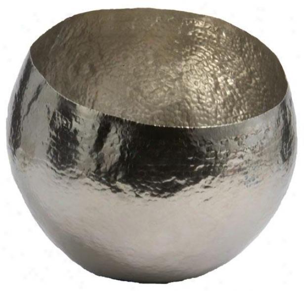 Brass Bowl - Sm 9.75dx7.5h, Gentle