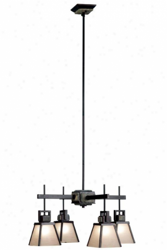 Brennan Chandelier - 4-light, Oil Rubbed Bronze