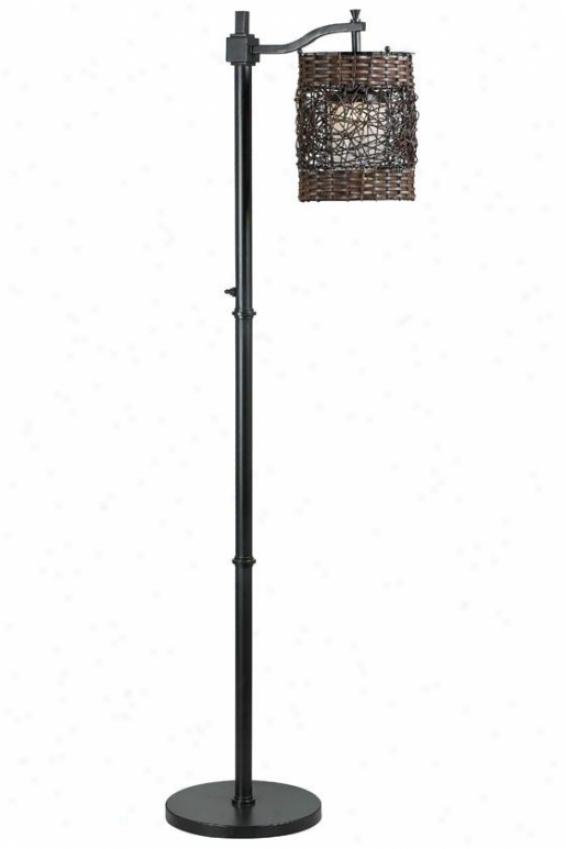 """""""brent Outdoor Floor Lamp - 60""""""""h X 8""""""""w, Oil Rub Bronze"""""""