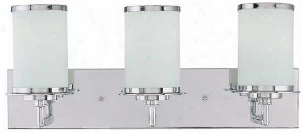 Brillatne 3-light Idle show Light - Three Light, Silver Chrome