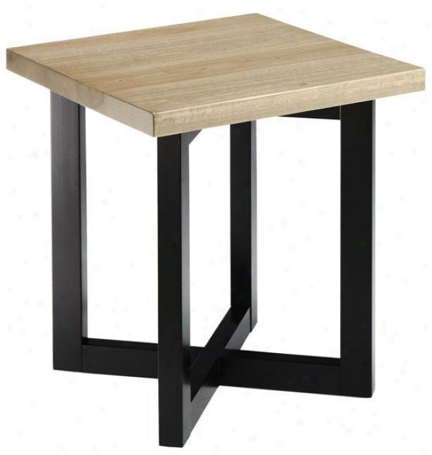 """""""brock Side End Table - 24""""""""hx21""""""""w, Black"""""""