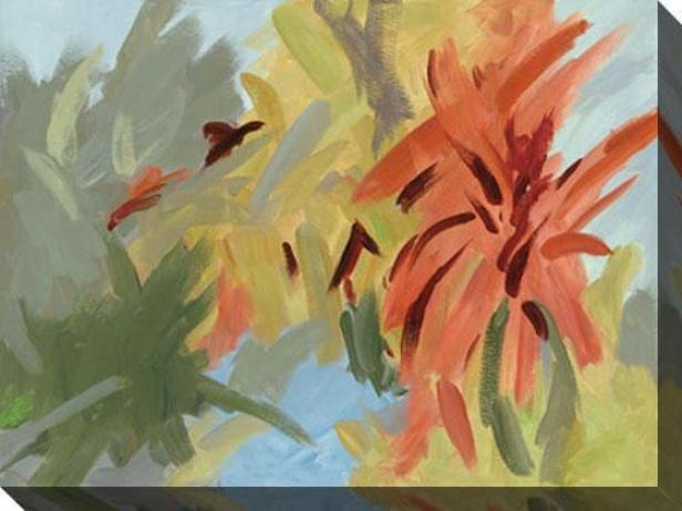 Bromeliad Essence Ii Canvas Wall Art - Ii, Pedantic