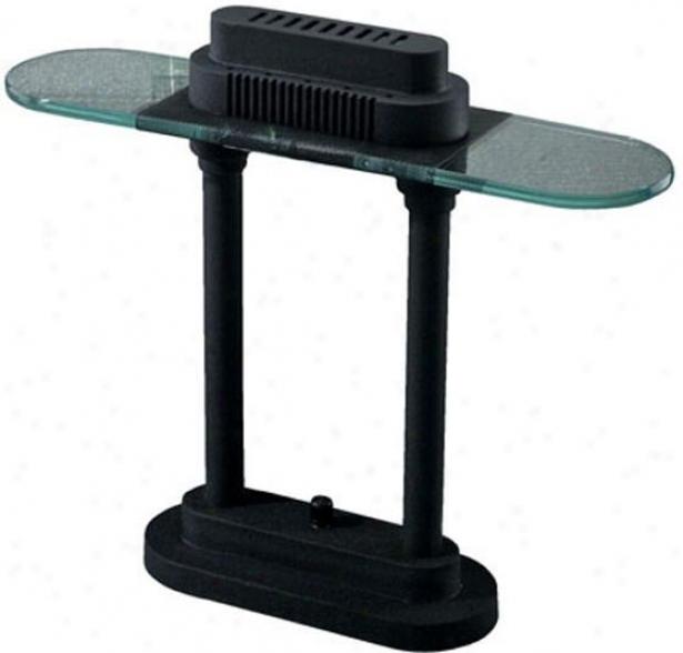 """bromine Desk Lamp - 15""""hx5""""d, Black"""