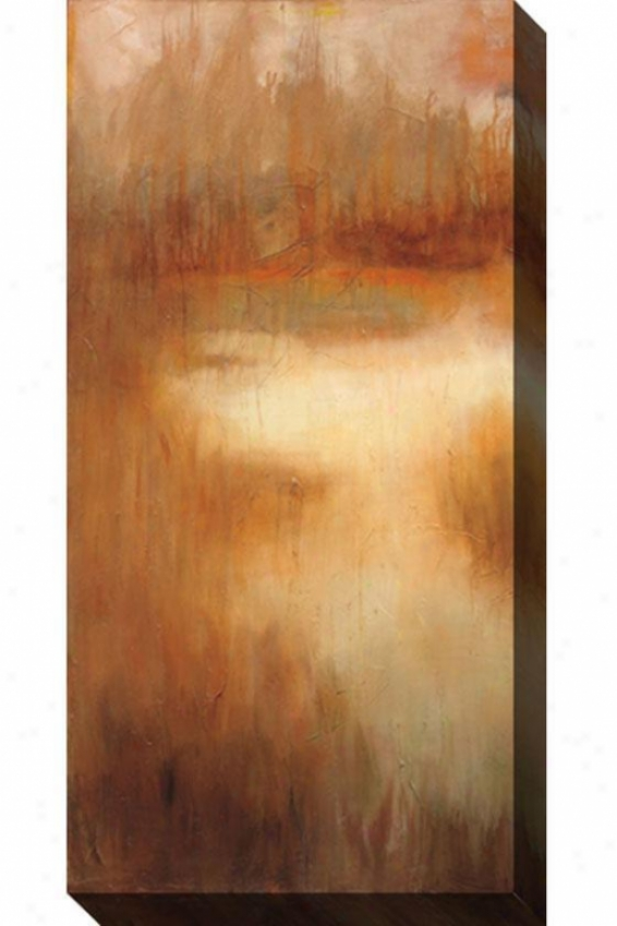 Brownwood Road I Canvas Wall Art - I, Tan/rust