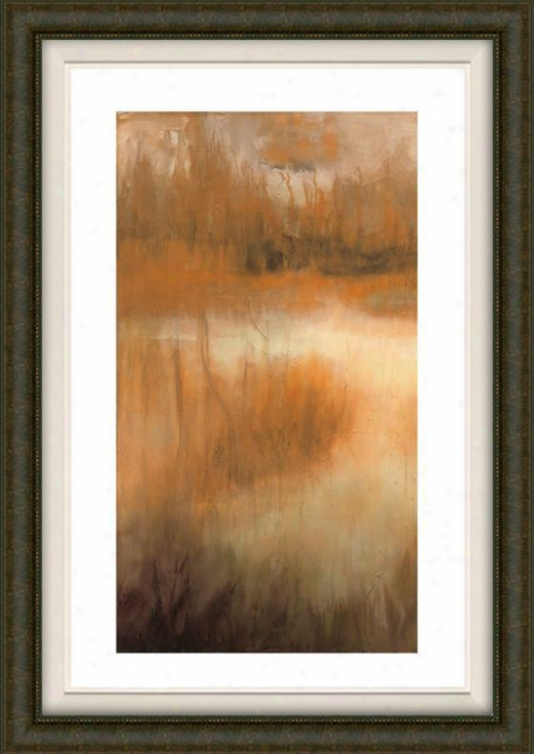 Brownwood Path Ii Framed Wall Art - Ii, Fltd Burlwood