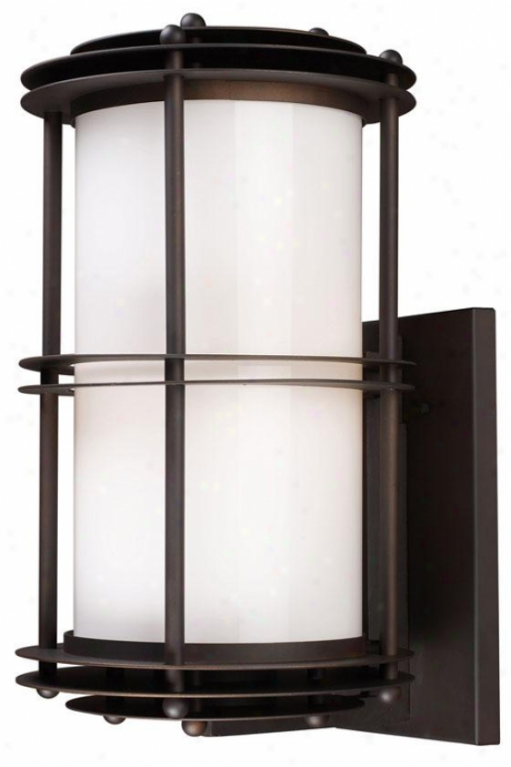 """burbank Outdoor Sconce - 20""""hx11""""w, Bronze"""