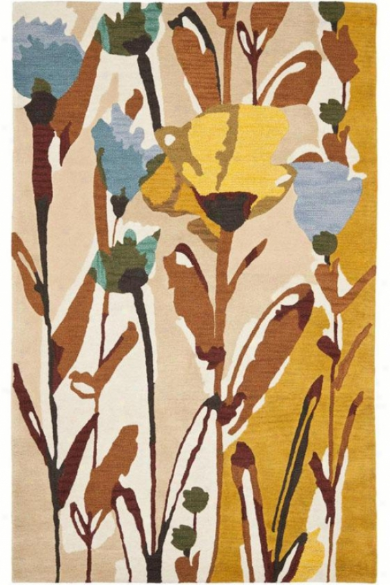 Buttercup Area Rug - 4'x6', Charcoal Gray