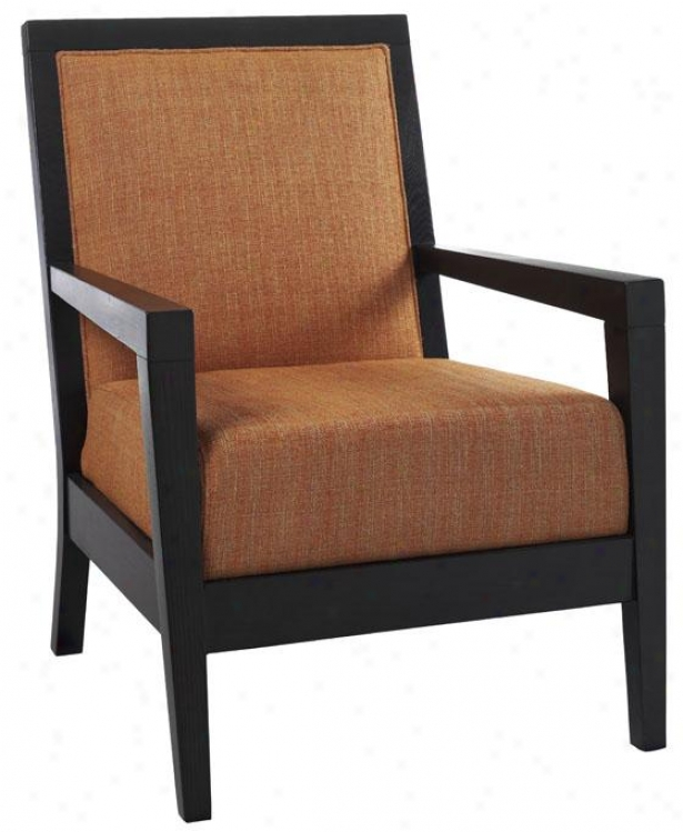 """cade Arm Chair - 38""""hx28""""w, Textured Orange"""