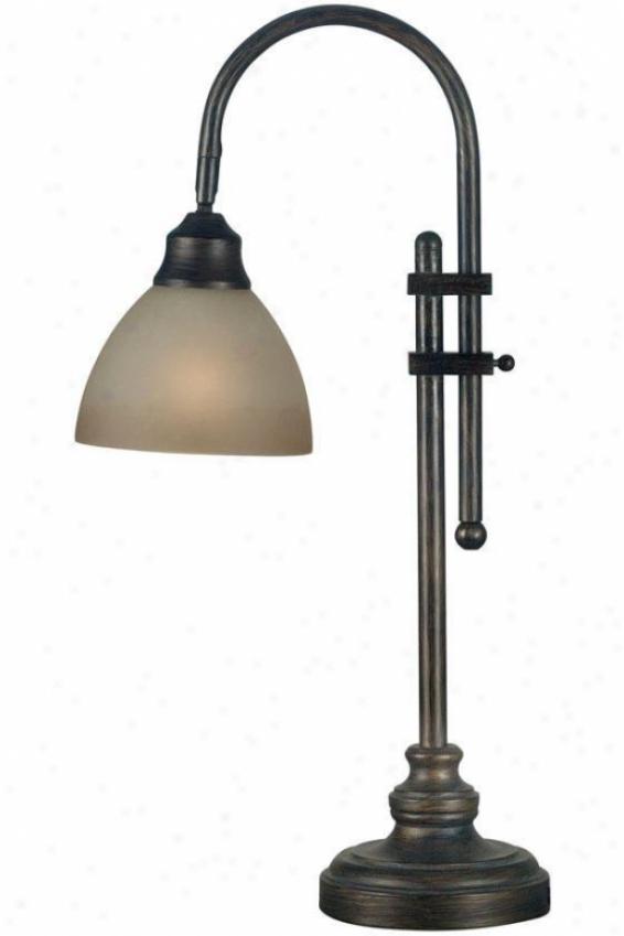 """""""callahan Desk Lamp - 28""""""""h, Bronze"""""""