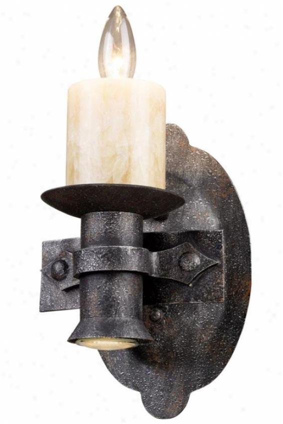 Camden Small Sconce - 1-light, Moonlit Rust