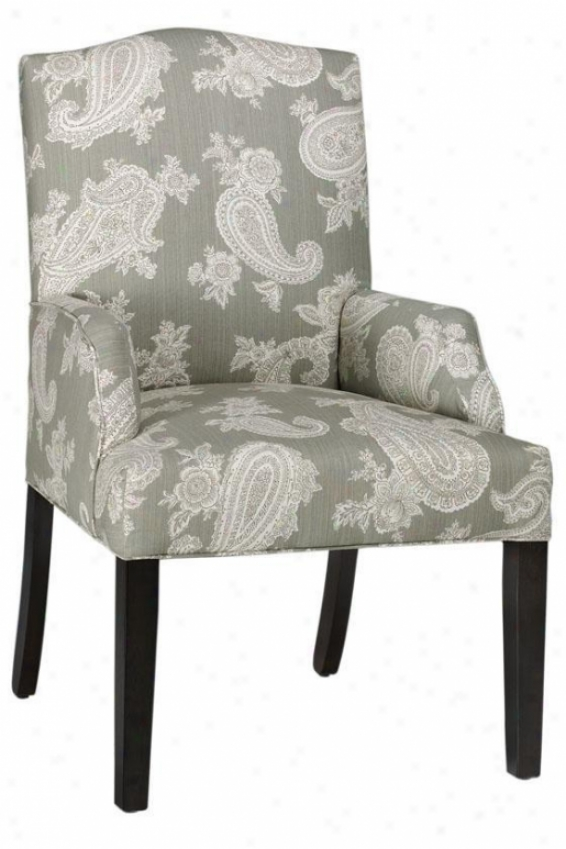 Camel-back Dining Chair - Dining, Chelsea Silver