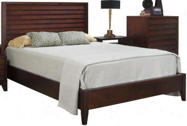 Canali Bed - King, Mocca