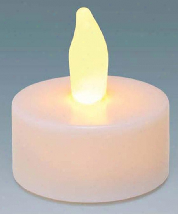 Candle Impressions Plastic Led Supper Lights - Set Of 10 - 10 Pack, Of a ~ color
