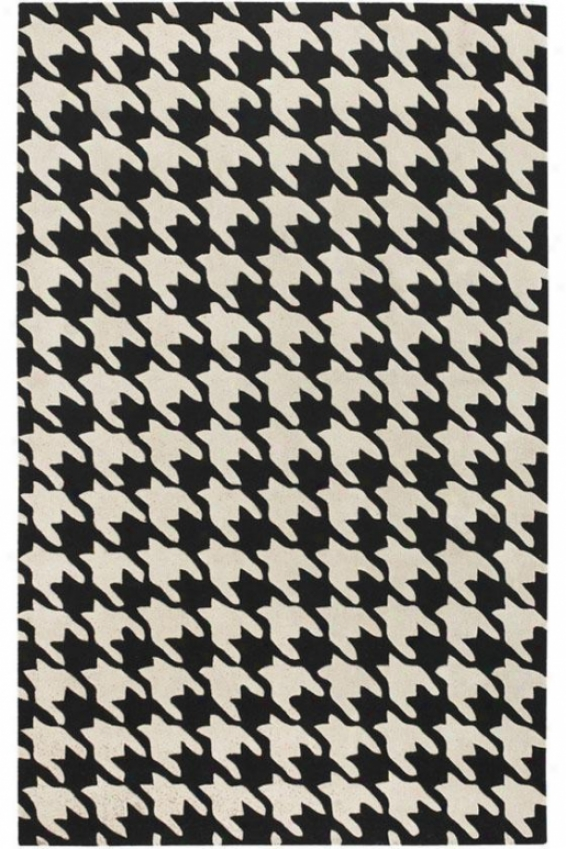 Caprio Area Rug - 5'x8', Black