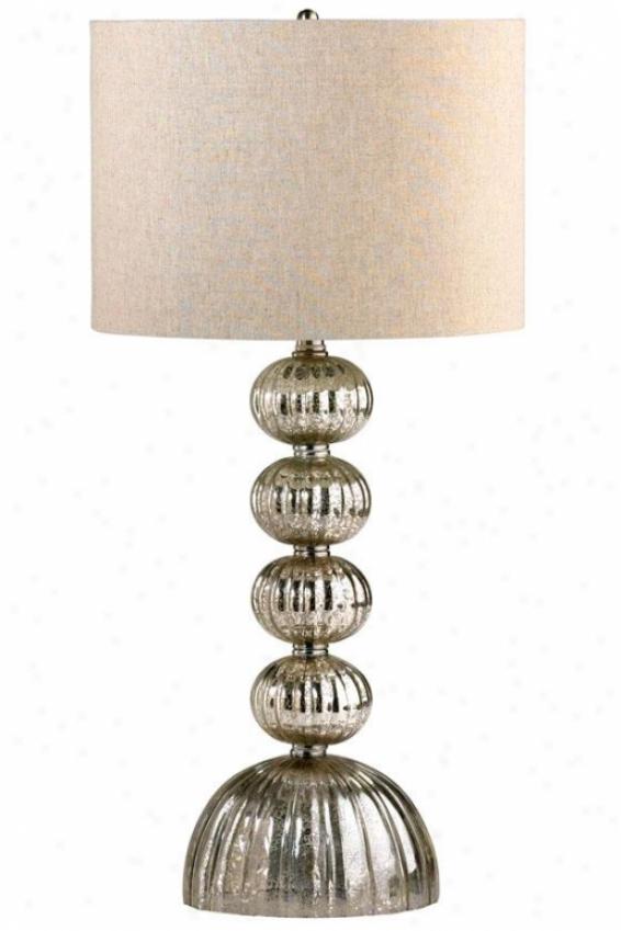 """""""cardinal Lamp - 32""""""""h, Gold"""""""